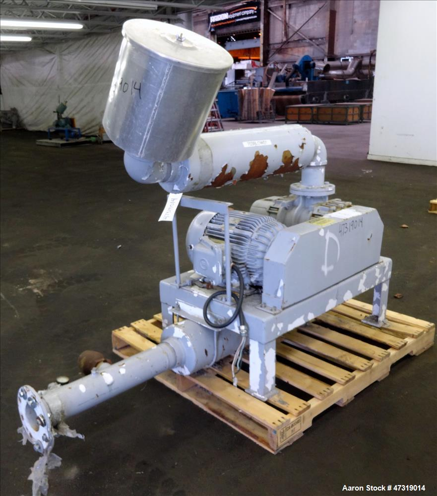 Used- Semco Pneumatic Systems Vacuum Loading System, Model BU-220. Consisting of (1) Spencer positive displacement blower, m...