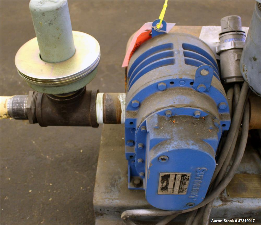 Used- WM. W. Meyer & Sons/Sutorbilt Vacuum Loading System. Consisting of (1) Sutorbilt positive displacement blower, model 4...