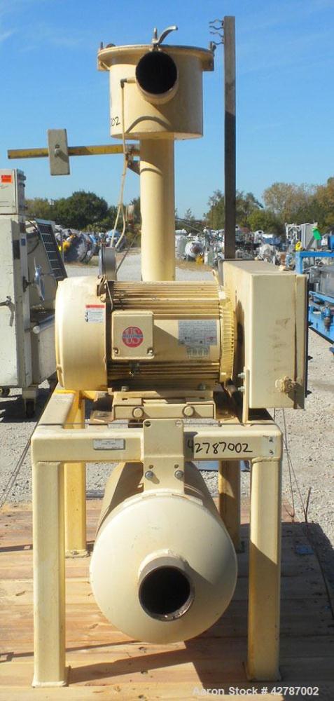 Used- Sutorbilt Legend Series Low Pressure Horizontal Rotary Positive Displacement Blower, Model 5LP