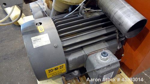 Used- Premier Pneumatics Vacuum Loading System Consisting Of: (1) Premier Pneumatics Filter Receiver, model FRC-R-E-24-58-18...