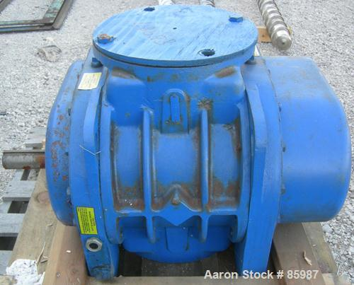 """Used- Sutorbilt Rotary Positive Displacement Blower, Model 711-4500-RHBD. Pressure rated to 15 PSI. Vacuum rated to 16"""" HG o..."""