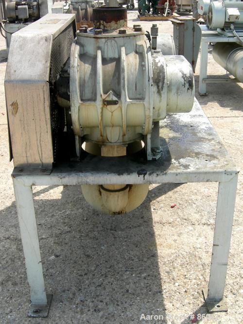 Used- Sutorbilt Medium Pressure Horizontal Rotary Positive Displacement Blower, Model 7MF. Approximate capacity 1125 CFM at ...