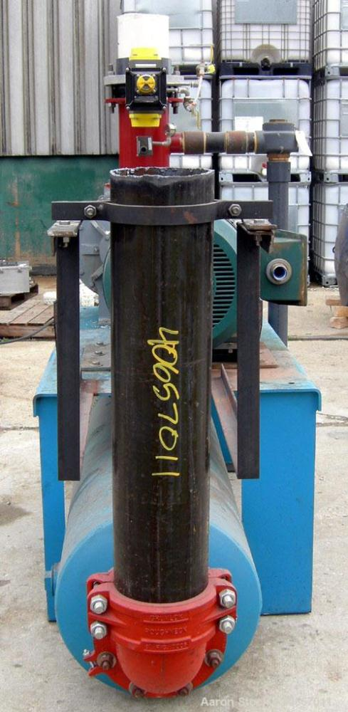 Used- Carbon Steel Sutorbilt Legend Series Medium Pressure Horizontal Rotary Positive Displacement Blower, Model 8MP