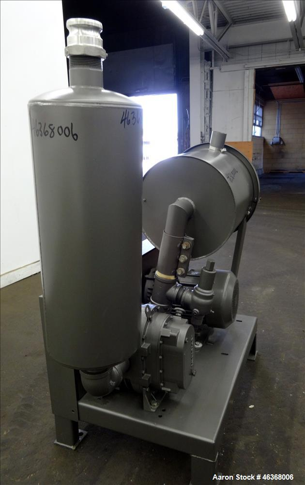 Used- Sutorbilt Medium Pressure Vacuum Loading System consisting of: (1) Sutorbilt vertical rotary positive displacement blo...
