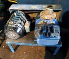 Used- Blower Engineering Rotary Lobe Blower, Model Tri Lobe TL6, Carbon Steel. Rated approximately 200-500 cfm, 15 psi, 15