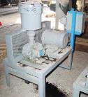 Used- Compressor Engineering Vacuum Conveying System Consisting Of: (1) Roots horizontal rotary positive displacement blower...