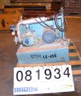USED: Roots Whispair horizontal blower, model 2506J. Approximately 75 cfm, 3600 rpm. 3-1/2