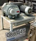 USED: Sutorbilt medium pressure horizontal rotary positive displacement blower, model 7MP. Approx capacity 1125 cfm at 42.8 ...