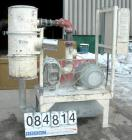 USED: Sutorbilt Vacuum Conveying System consisting of (1) Sutorbilt vertical rotary positive displacement blower, 4