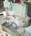 Used- AEC Whitlock Vacuum Power Unit Consisting Of: (1) Roots horizontal rotary lobe blower, model 45URAI. Driven by a 7.5 h...