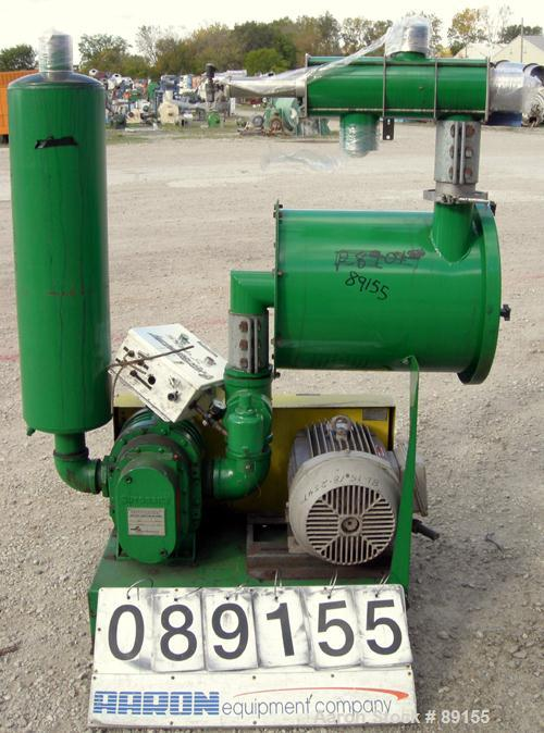 USED: Vac-U-Max vacuum conveying system consisting of: (1) Sutorbilt low pressure vertical rotary positive displacement blow...