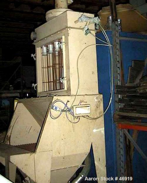 Used- Carbon Steel Vacumax Bag Unloading Station