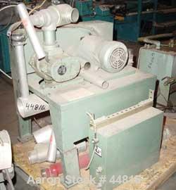 "Used- Whitlock Vacuum Loading Unit Consisting Of: (1) Rotary lobe horizontal blower, 3"" inlet/outlet. Driven by a 5 hp, 3/60..."