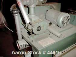 """Used- Whitlock Vacuum Loading Unit Consisting Of: (1) Rotary lobe horizontal blower, 3"""" inlet/outlet. Driven by a 5 hp, 3/60..."""