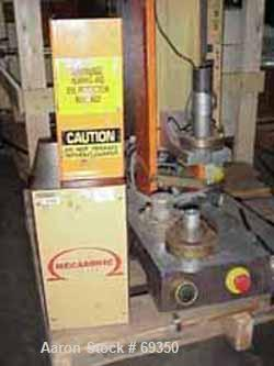 USED- KLN Omega 1 Mecasonic Plastic Welder, Model BP218. 110 Volt, designed for welding molded plastics parts. Includes dela...