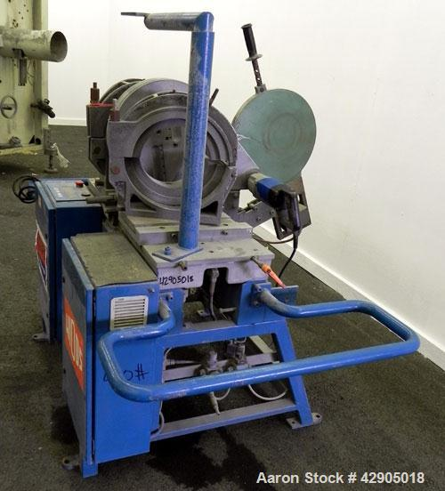 Used- Widos Plastic Pipe Welding Machine, Model 4002 CNC