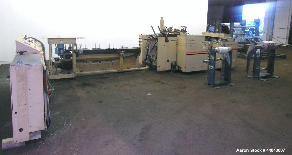 "Used- Amplas 30"" Right Handed Servo Side Seal Wicketer Bag Machine, Model 770WS"