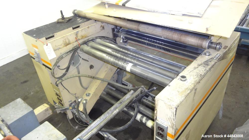 "Used- Amplas 30"" Left Handed Servo Side Seal Wicketer Bag Machine, Model 770WS"