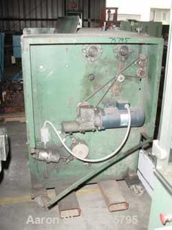 "USED: Autoplast 40"" wide bag separator, model FW40.  1 hp gearmotor"