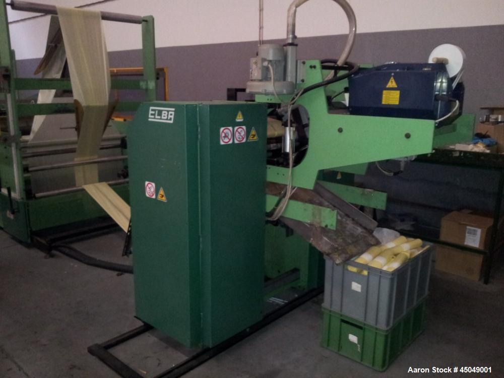 Used-Elba Automatic Bag Making Machine, Model SA92E-11