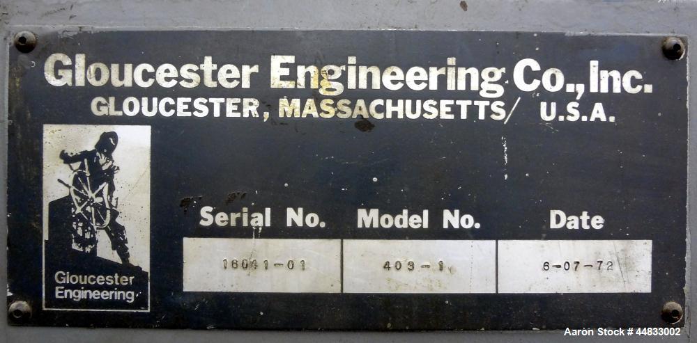 Used- Gloucester Model 403-1 Bag Folder