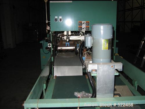 USED: Talyo model NGBH850 BU 2UP microprocessor controlled bag machine for T-shirt bags. With inline punching, 120 cycles pe...