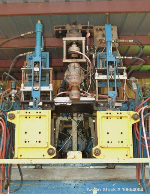 Used-Bekum Continuous Extrusion Blow Molding Machine, Model H-151-M