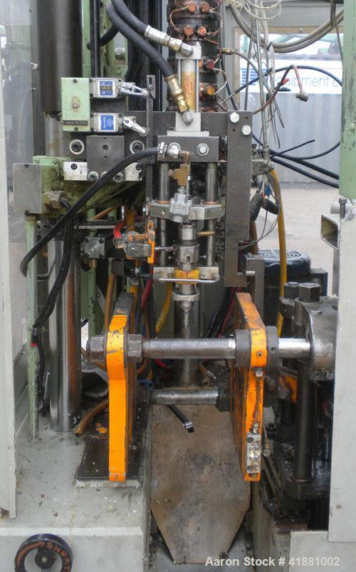 "Used- Hayssen Monablow Continuous Blow Molding Machine, Model 2125 S. Single station, dual head. Platen size 12"" x 13"", maxi..."