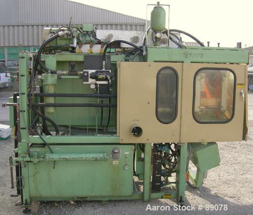 "Used- Hayssen Econoblow Blow Molding Machine, Model 5030-AS-375. Approximate 280 gram shot. 2"" extruder, 24:1 L/D, 30 hp mot..."