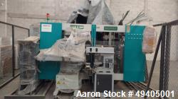 Unused- Dekuma Blow Molding Machine. Two stations, parison programmer (99 points), antistatic, 6 cavity head, 2 cavity head,...