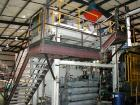 USED: Battenfeld-Hartig model BH717 with twin 15 lb head. Usable platen measures 72