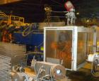 USED: Impco blow molding machine, model B30-R180-DDH. 5 pound total shot. Can be either a double head on 15