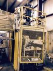 Used- Sterling Blow Molding Machine. 8 lb. head, 128 oz. shot. Platen size 44 x 20. Die height min. - 18. Die height max - 2...