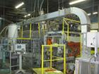 Used- Uniloy Model 400R20, Serial #4983 Reciprocating Blow Molder. No side shift. Has 4 head design on 14