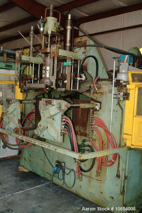 Used-Bekum Continuous Extrusion Blow Molding Machine, Model H-151.  Single head, 90 mm, 20:1, Falcone controls, 60 hp DC, 46...