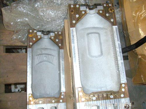 Used- Uniloy Plastic Bottle Mold For 42 Ounce LDL Squeeze Bottle
