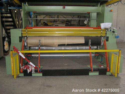 """Used-Bandera 3 Layer Blown Film Co-Extrusion Plant for production of agri-film up to 29.53"""" (9000 mm). Comprised of (1) Band..."""