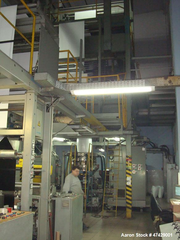Used- Barmag F-12058 50/4421 type BF 4/5. Manufacturing date is 1988. In 2011 the line was overhauled: new head was installe...