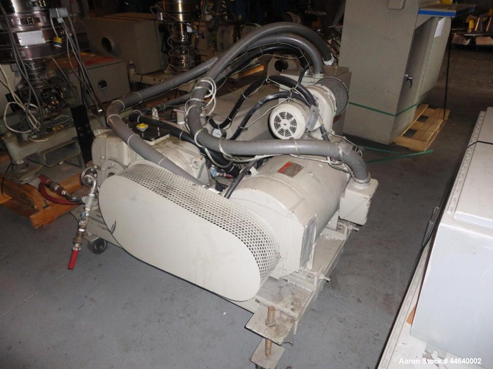 """Used- Battenfeld Three Layer Blown Film Line consisting of the following: 2"""" Battenfeld extruder, 30:1 L/D, electrically hea..."""
