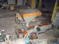 "USED: GEC 144"" blown film line consisting of: 4.5"" GEC extruder, model244-001, S/N 244-1522-01, 24:1 L/D, 150 hp motor, with..."