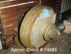 """USED:  26"""" GEC die, estimated gap .065 with dual lip air ring, 15 hp blower."""