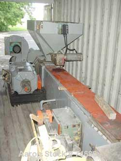 "USED: GEC 144"" blown film line consisting of: 6"" GEC extruder, 26:1L/D, no motor, model 276-001, serial #276-29847, air cool..."