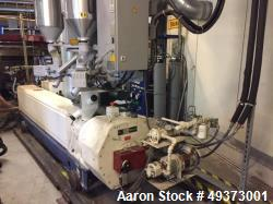 Used- Reifenhäuser/Gloucester 3 layer Co-Extrusion Blown Film Line. Designed for Geomembranes with a capacity of 1980-2640 l...