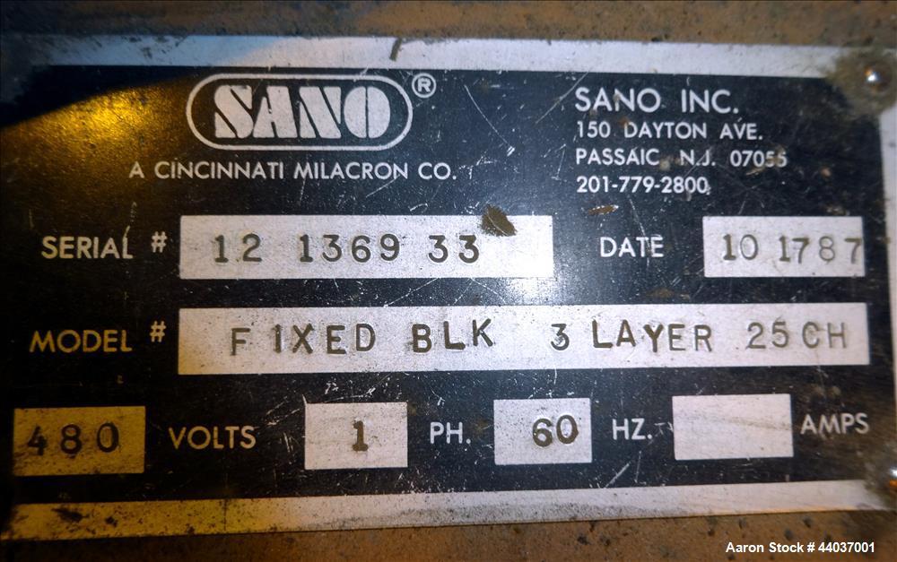 Used- Sano Blown Film Co-Extrusion Line