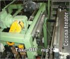 Used-Kuhne Blown Film Plant. Extruder KD 1.3