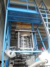 Used-Tecom 50 MB B-800 Blown Film Line.  Suitable for HDPE, LDPE, BIO.  Comprised of (1) Tecom EXK50 B extruder, 30 L/D, 5.9...