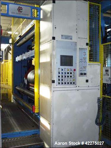 Used- Tenco Coating Engineering 3 Layers Cast Extrusion Line.