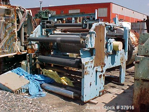 Used- Egan Extrusion Coating/Casting Station