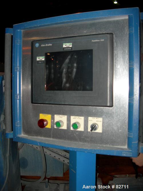 Used- Buss Ko-Kneader, 55mm, Model PCS 55-8D. 8:1 L/D, driven by a 40 hp AC motor with inverter. Has Panelview touch screen ...