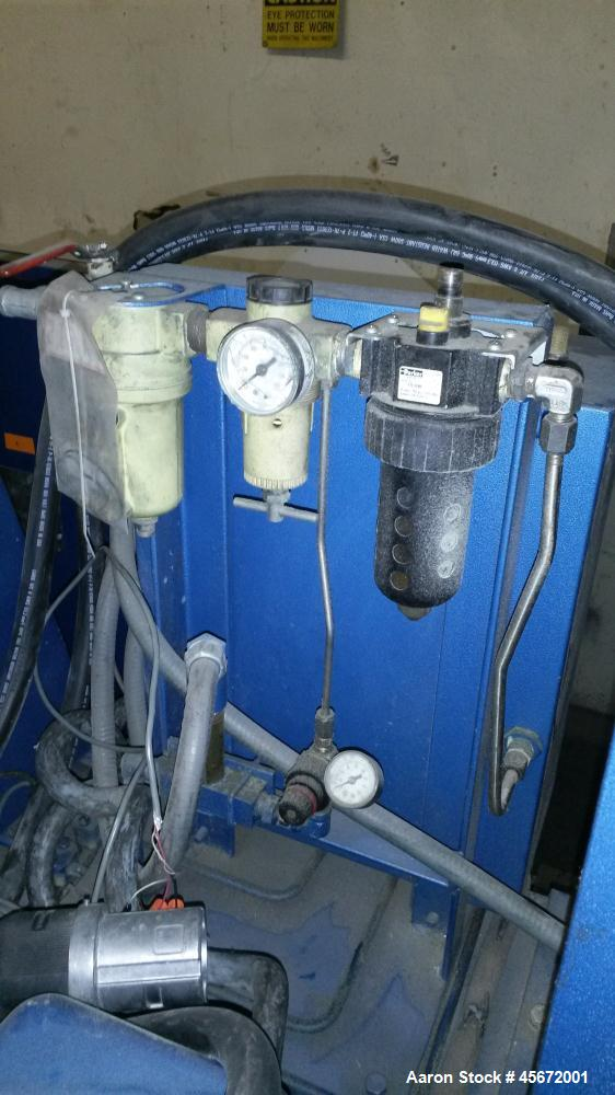 Used- Draiswerke Gelimat, Model G1.  30 Hp, 480 volts, 60 Hz, ABB VFD control panel.
